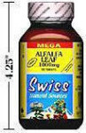 Alfalfa Leaf - Organic - MEGA - 1000 mg