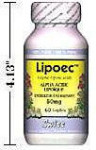 Alpha-Lipoic Acid - Lipoec Energizer - 50 mg