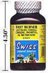 Fast Burner - Tri-Balance - Lipotropic Fat Burner Formula - Choline, Inositol, DL Methionine