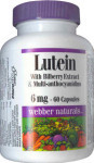 Lutein with Bilberry Extract & Multianthocyanidins (FloraGLO) - 6 mg