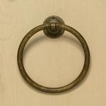 Antique Finish Towel Ring