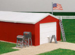 Farm Country Garage Playset - 1:64 Scale