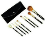 Cosmetic Make Up Brushes - 8 Brushes in Satin Case