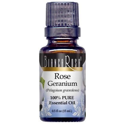 Rose Geranium South Africa Pure Essential Oil (Cape Rose Geranium) - Label