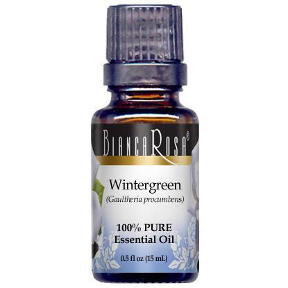 Wintergreen Pure Essential Oil - Label