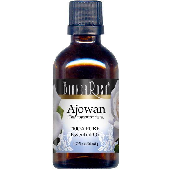 Ajwain (Ajowan) Pure Essential Oil - Label