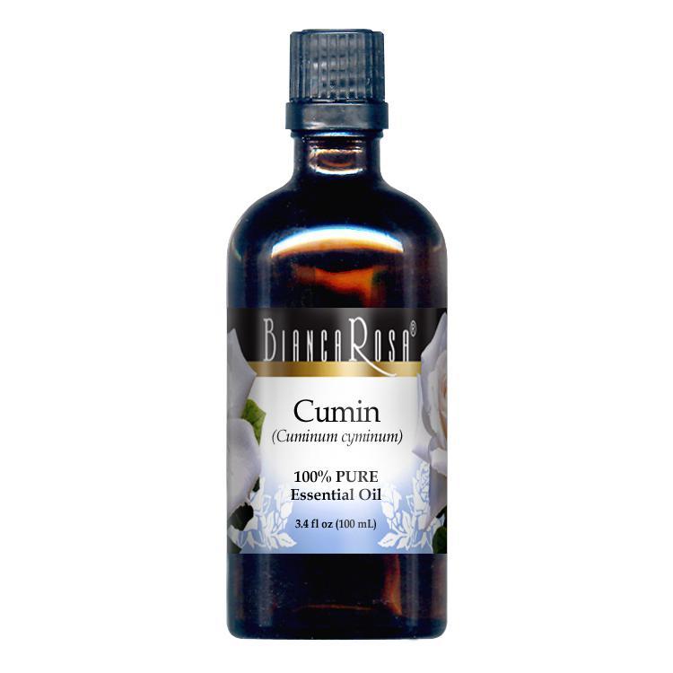 Cumin Pure Essential Oil - Label