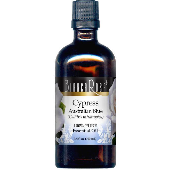 Cypress Australian Blue Pure Essential Oil - Label