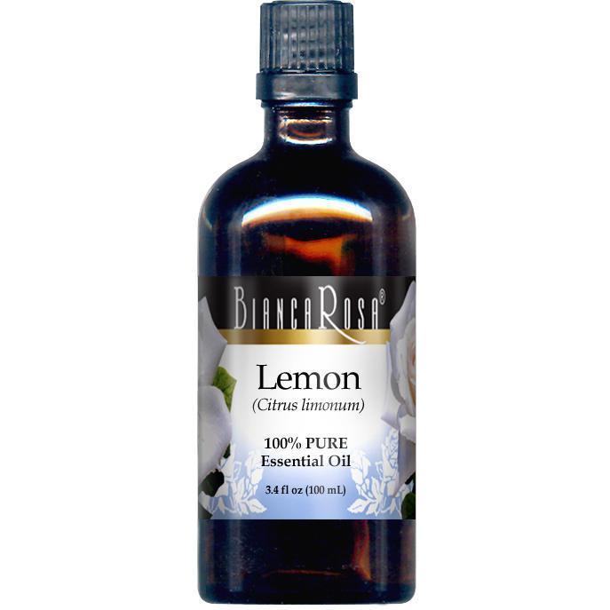 Lemon Pure Essential Oil - Label