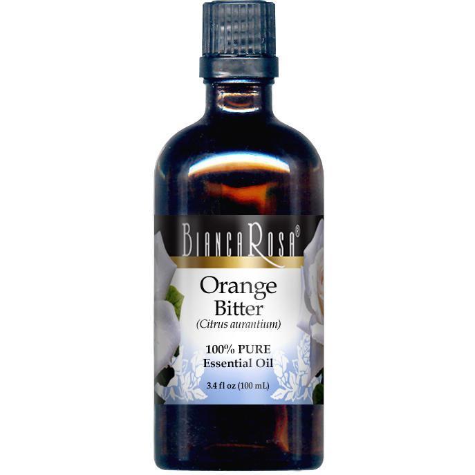 Orange Bitter Pure Essential Oil - Label
