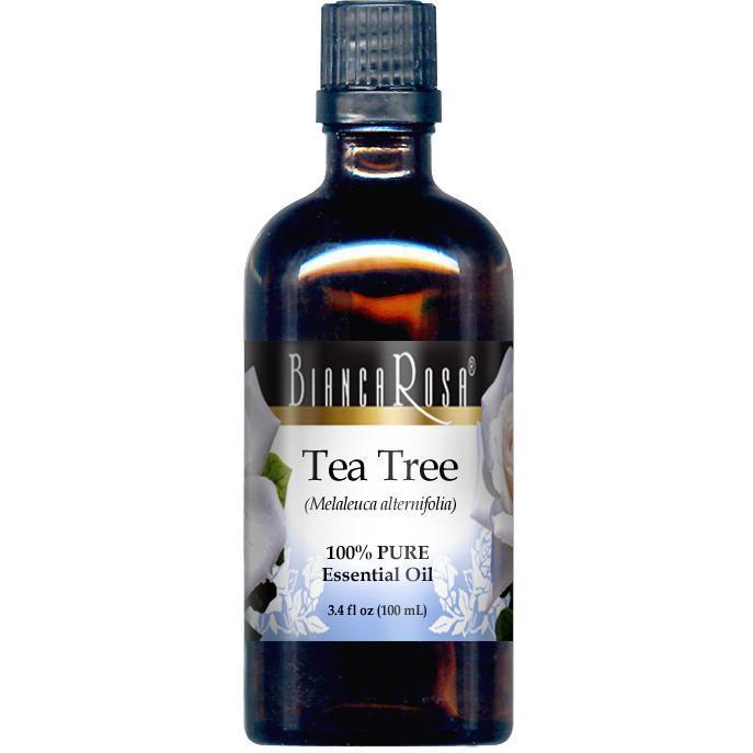 Tea Tree Oil - (Melaleuca) - 100% Pure Essential Oil - Label