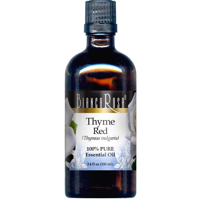 Thyme Red Pure Essential Oil - Label