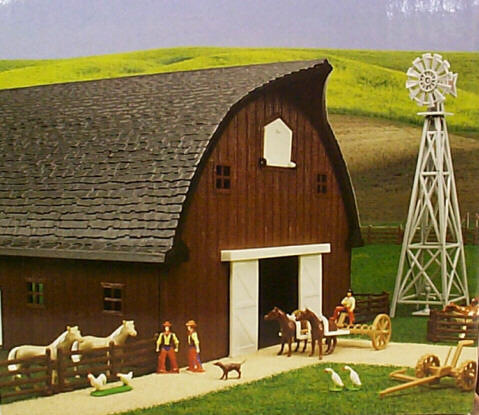 Rounded Gable Barn