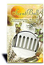 ScentBall - Aromatherapy Diffuser - Comes with 5 Refills