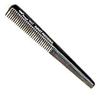Professional Barber Wave Comb - Hard Rubber
