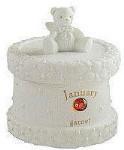 Monthly Trinket Box - January - Garnet
