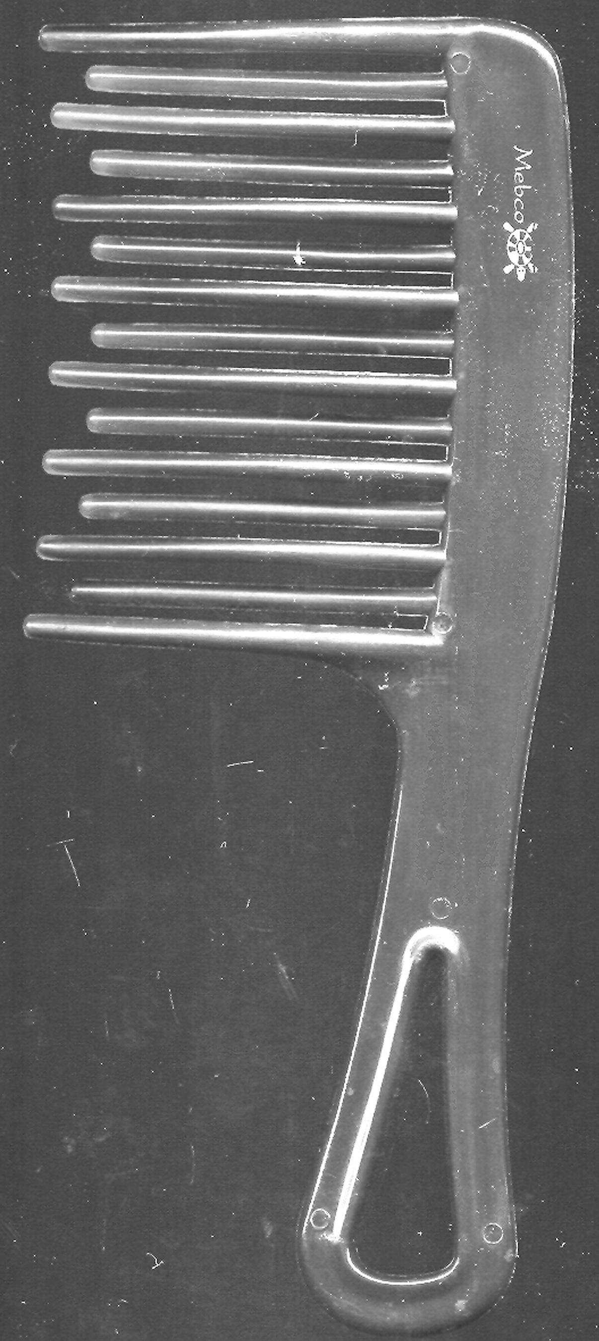 Tortoise Comb - Detangler For Wet Hair - Label
