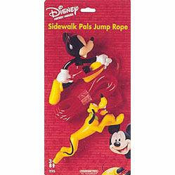 Mickey and Pluto Jump Rope