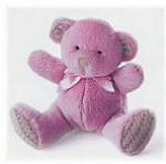 "Bear Baby - Pink - 5"""