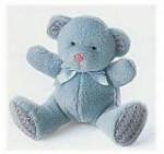 "Bear Baby - Blue - 5"""