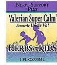 Valerian Super Calm - Nerve Support Blend and Ritalin Alternative