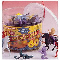 Wild West Bucket - 60 Pieces