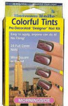 Uptown Nails - Pre-Decorated Nail Kit - Colorful Tints - MORNINGSIDE