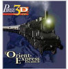 The Orient Express - The Express from the Twenties - French version - 3D CD Puzzle