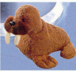 "Tuskie Walrus - 6"" - Polar Pals Series - Luv Pets Collection"