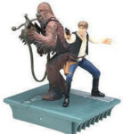 Star Wars 25th Anniversary: Hans Solo and Chewie