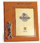 Wooden Plaque Frame - Golf Master Swinger