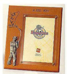 Wooden Plaque Frame - A Reel Man