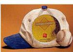 """Baseball Cap Frame - Holds 2.5"""" x 2.5"""" Photo"""