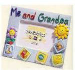 Skribbles: Me and Grandpa Photo Frame
