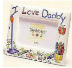 Skribbles: I Love Daddy Photo Frame - Horizontal