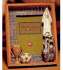 Soccer Shadowbox Photo Frame