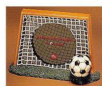 Recaptured Goals: Soccer Goal Photo Frame