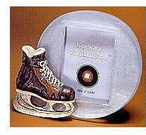 Hockey Highlights: Skate Photo Frame