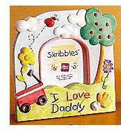 Skribbles: I Love Daddy Photo Frame