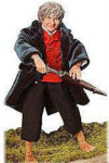 Bilbo - Lord of the Rings - Hero of the Hobbits - Fully Poseable - Intricate Detailing - 12""