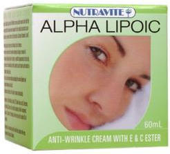 Anti-Wrinkle Cream - Alpha Lipoic - DMAE