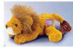 """Flopples - Beanbag with Heart Message - Cyrus - Lion (7.5"""")"""