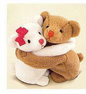 "True Companions - Beanbag Huggers - Bears LRG (12"" x 6"" high)"