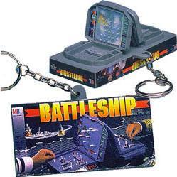 Battleship Keychain