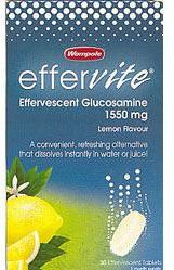 Effervescent Glucosamine - Lemon Flavour - 1550 mg