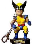 Wolverine Mini Bobble Head - Clip-on - Collectible Mini-Hero