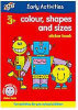 Colour, Shapes and Sizes Sticker Book