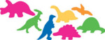 Sticky Shapes - Dinosaurs - Package of 225