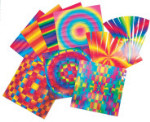 Rainbow Weaving Mats - Package of 72