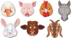 Farm Animal Mask - Package of 24